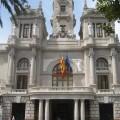 El Ayuntamiento y la Universidad de València firman un convenio de colaboración en materia deportiva para optimizar los recursos de ambas entidades. (Ayuntamiento de Valencia).