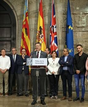 El President se ha mostrado satisfecho con la labor del catedrático Francisco Pérez en la comisión de expertos convocada por el Gobierno central.