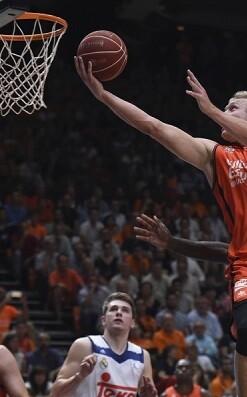 El Valencia Basket se mostró apabullante en su victoria.