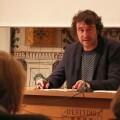 El director general de Política Lingüística se reúne con el secretario general de la Carta europea de las lenguas para explicarle la política lingüística del Consell. Rubén Trenzano.