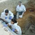 El equipo de arqueólogos de ArqueoAntro durante las excavaciones.