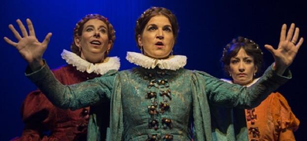 El espectáculo llega con el aval de su indiscutible triunfo en el Teatro de la Abadía de Madrid. (Foto-Maria Artiaga).