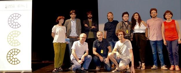 En el acto celebrado en la Filmoteca también han intervenido los directores y los equipos técnicos de los cortometrajes seleccionados.