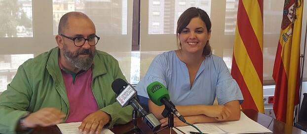 Enric Nomdedéu y Sandra Gómez.