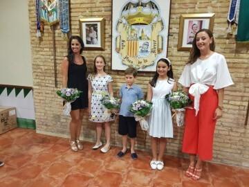 Falleras Mayores de la Comisión Falla Plaça de la Mercé para el ejercicio 2017 18 Mireia Cuñat y Begoña Sanchis (12)