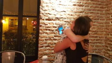 Falleras Mayores de la Comisión Falla Plaça de la Mercé para el ejercicio 2017 18 Mireia Cuñat y Begoña Sanchis (123)