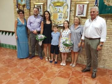 Falleras Mayores de la Comisión Falla Plaça de la Mercé para el ejercicio 2017 18 Mireia Cuñat y Begoña Sanchis (57)