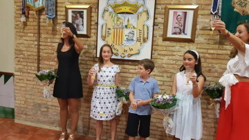 Falleras Mayores de la Comisión Falla Plaça de la Mercé para el ejercicio 2017 18 Mireia Cuñat y Begoña Sanchis (72)