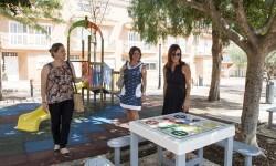 Favara recupera cuatro parques para la ciudadanía.