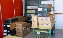 Giner pregunta por qué el colegio municipal de Benimaclet carece de ordenadores nuevos para los alumnos.