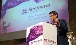 Jorge Rodríguez en la inauguración del II Feminario de la Diputación de Valencia.