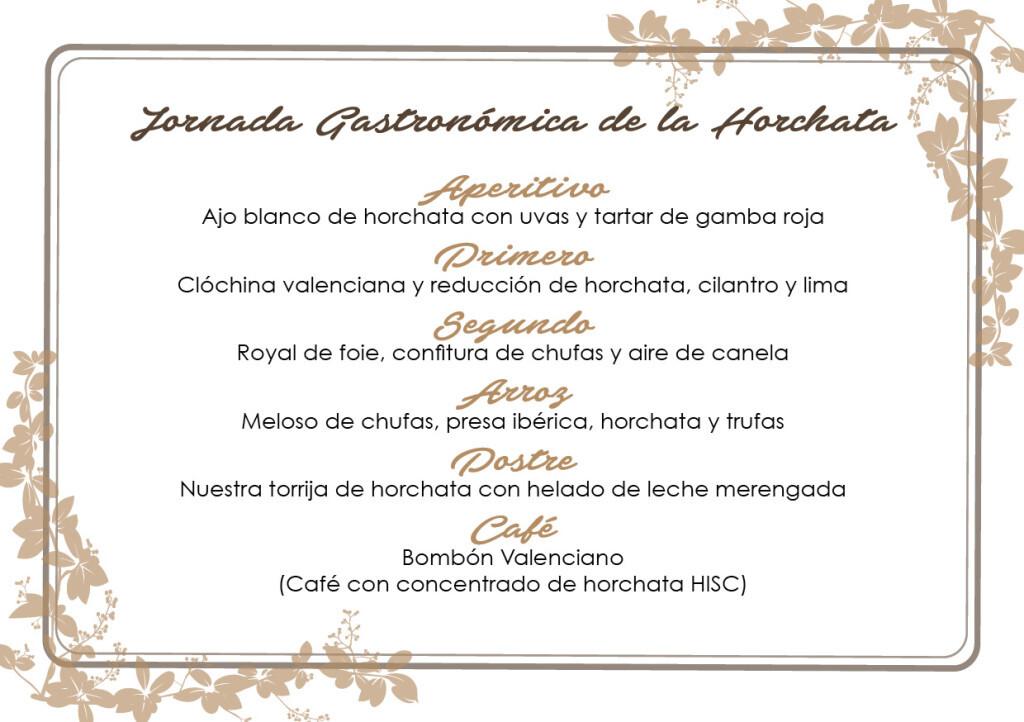 Jornada Gastronómica de la Horchata