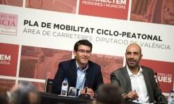 La Diputación conectará municipios y personas con una red de vías ciclopeatonales en todas las comarcas.