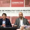La Diputación inicia un plan de acción para reforzar la seguridad vial de los ciclistas en su red de carreteras.