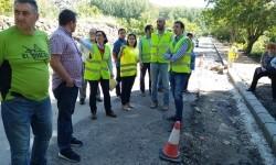 La Diputación invierte este año 1,3 millones de euros en mejorar las carreteras del Rincón de Ademuz.