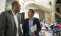 La Diputación lleva a Bruselas su Plan de Movilidad Ciclopeatonal para optar a financiación europea.