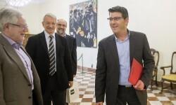 La Diputación mantiene su apoyo a la UNED en la apuesta por transferir conocimiento a los municipios.