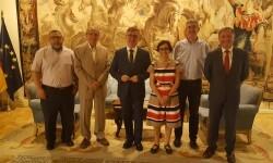 La Mesa por la Educación en Libertad explica al Ministerio la preocupación por la educación concertada en la Comunitat Valenciana