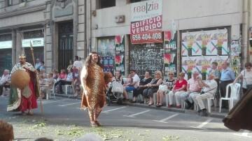 La Procesión del Corpus Christi pone fin a la festividad en Valencia (2)