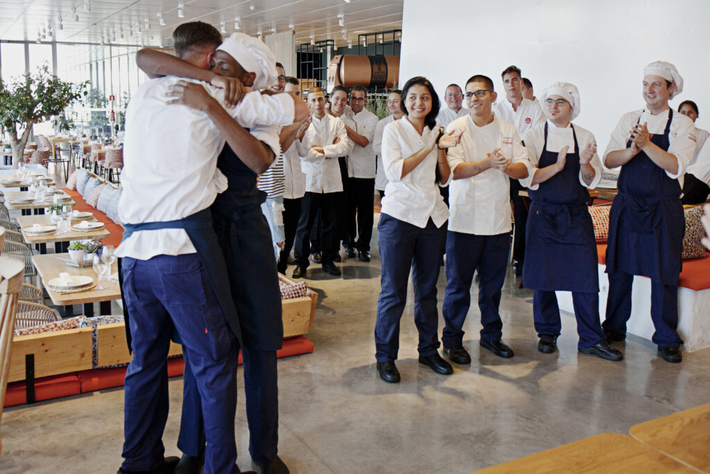 La escuela de hostelería fundación Cruzcampo de Veles e Vents acoge la primera final de Talentchef (2)