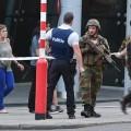 Las Fuerzas Militares belgas abaten a un hombre con explosivos en la Estación Central de Bruselas.