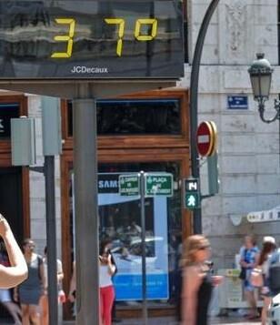 Las altas temperaturas se mantendrán el fin de semana.
