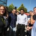 Las diputaciones de Valencia y Castellón suman sus efectivos para atajar el fuego de Gátova y Segorbe.