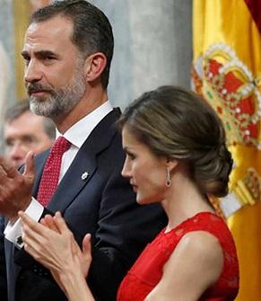 Los reyes en el Congreso.