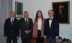 Luis Aznar, Juan López-Trigo, Paula Sánchez y Juan Viña