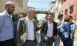 Manuel transformará la antigua vía del tren en una gran zona verde con el Pla SOM de la Diputación de Valencia.