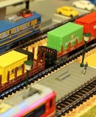 Maqueta de ferrocarriles.