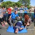 Maratón Valencia forma a sus voluntarios en cursos de reanimación cardio pulmonar.
