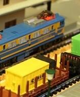 Modelismo ferroviario en la Estación València Nord.