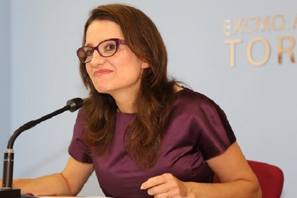 Oltra-'El Consejo de Europa estudiará incluir algunos proyectos de la Comunitat como ejemplo de buenas practicas'. (Mónica Oltra).