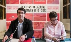 Petrés y Quartell reciben 136.500 euros de la Diputación de Valencia para la mejora de sus polideportivos.