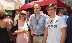 Racó de Amstel en la Plaza de Los Luceros y en compañía de la Bellea del Foc 2017 (3)