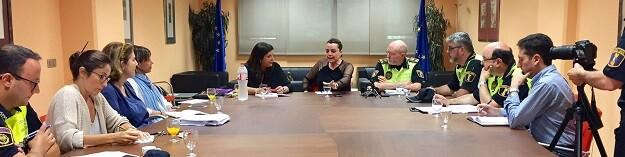 Reunión de la comisión mixta.