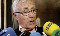 """Ribó exige a Rajoy cerrar los CIE's y acoger """"dignamente"""" a las personas refugiadas. Joan Ribó."""