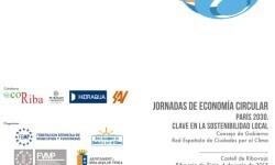 Riba-roja de Túria acoge el próximo 6 de junio las Jornadas de Economía Circular. Paris 2030. Clave en la Sostenibilidad Local.