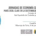 Riba-roja de Túria acoge este martes de 6 de junio las Jornadas de Economía Circular. Paris 2030. Clave en la Sostenibilidad Local.