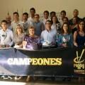 """Rodríguez-""""El rugby aúna los valores de integración y trabajo en equipo que practica la Diputación de Valencia""""."""