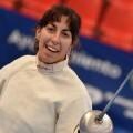 Sofía Pérez Simbor, de Esgrima Marítim, octava en el Campeonato de España Senior.