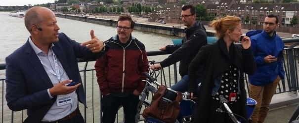 Tour per la xarxa ciclista de Nijmegen.