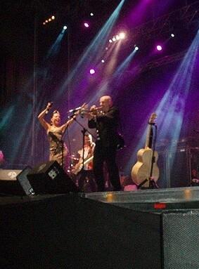 Uno de los conciertos de Viveros.