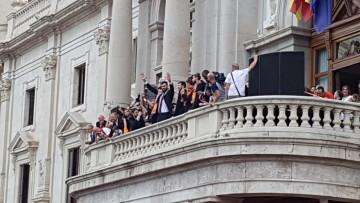 Valencia Basket celebró con su afición el primer título de la Liga Endesa (30)