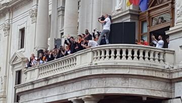 Valencia Basket celebró con su afición el primer título de la Liga Endesa (33)