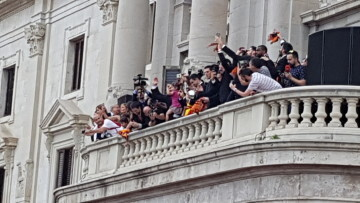 Valencia Basket celebró con su afición el primer título de la Liga Endesa (48)