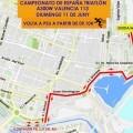 Valencia acoge la tercera edición del Campeonato de España de Triatlón Media Distancia a 300W.
