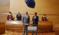 Voro Femenia toma posesión de su cargo como diputado de Mancomunidades y Comarcalización.