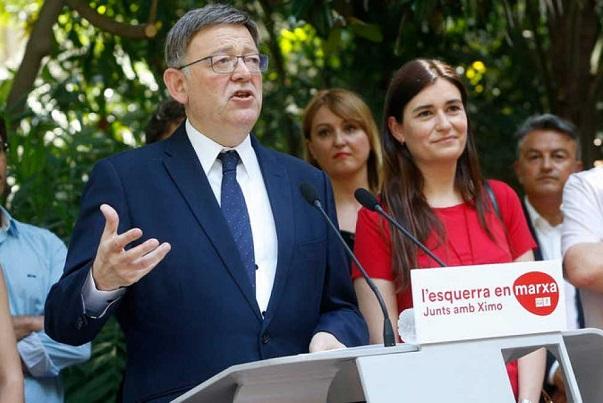 Ximo Puig presenta su candidatura para liderar el PSPV.